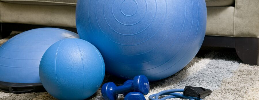 Home exercise equipment with bungee cord